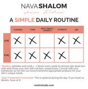 Simple Daily Regimen
