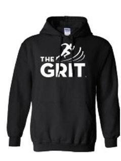 Black Hooded GRIT Sweatshirt