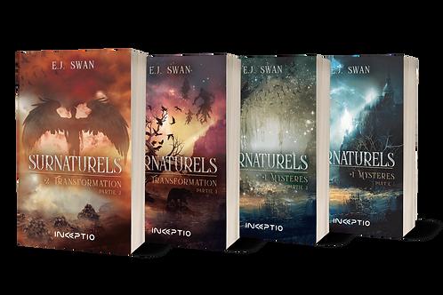 Pack 4 tomes Surnaturels