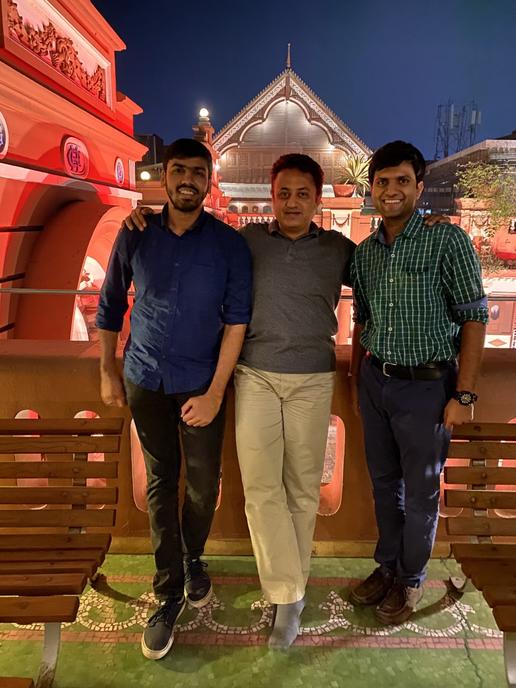 Fun & Dine at Agashiye, Ahmedabad after work visit to a Pharma production facility at Halol, Gujarat.