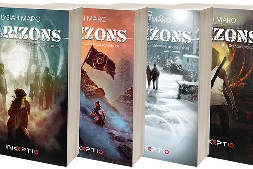 Pack Horizons / Saga complète