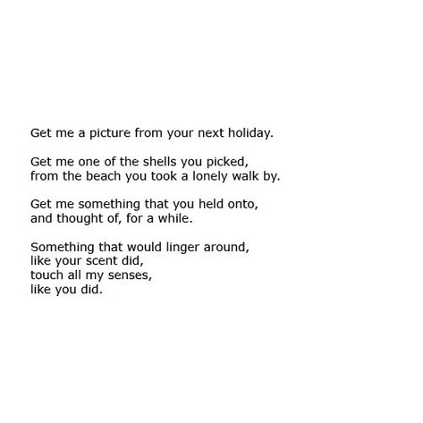 Get Me A Picture From Your Next Holiday.