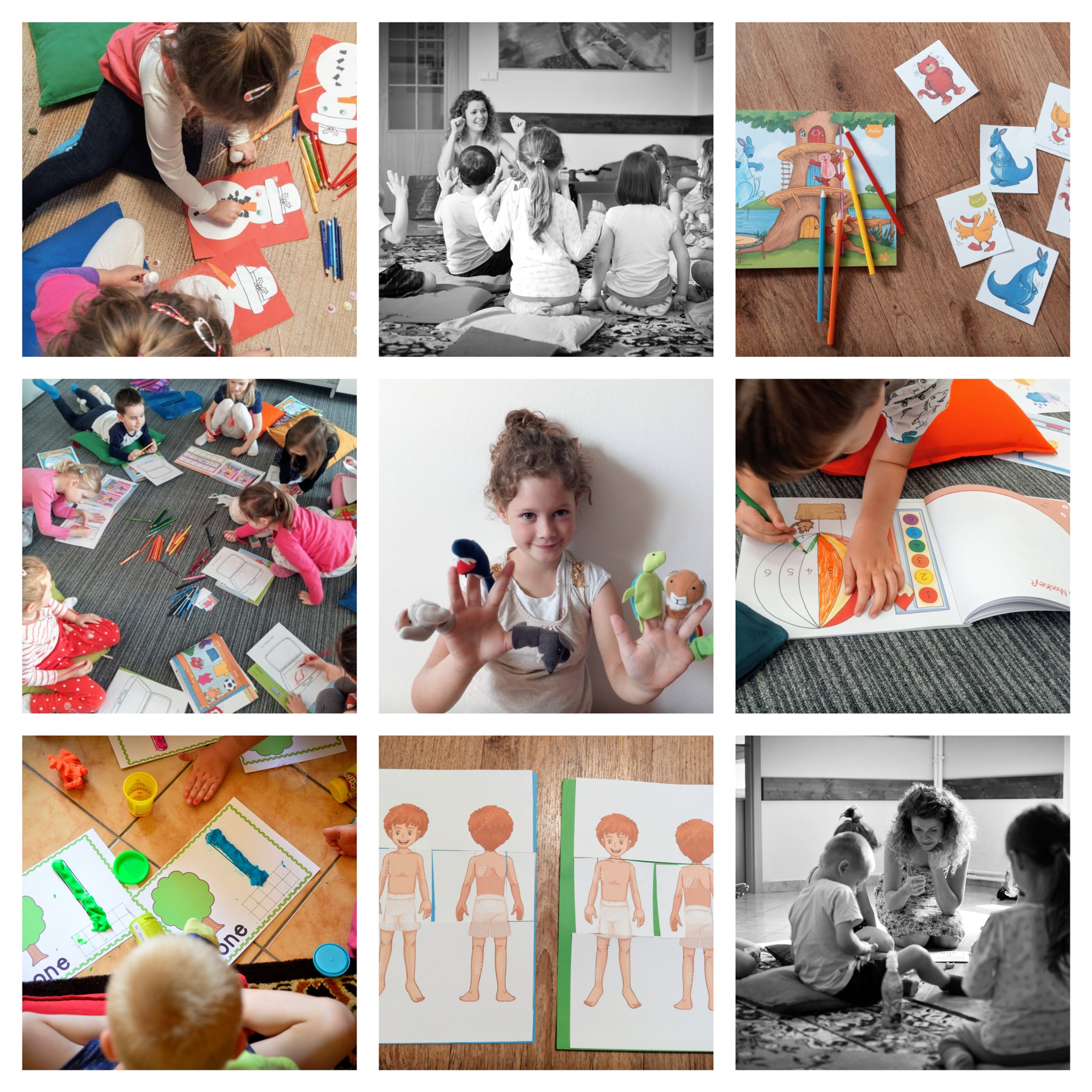 Preschool English THUR