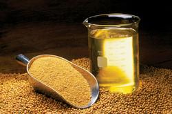 aceite de soja desgomado