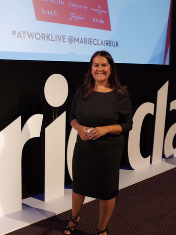 Marie Claire speaking event