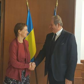 Στην Πρεσβεία της Ουκρανίας