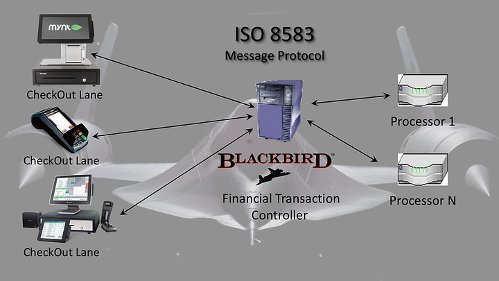 A graphic illustration of BlackBird's data flow.