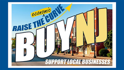 BuyNJ-postcard promo to encourage residents to support local business. #BuyLocalNJ