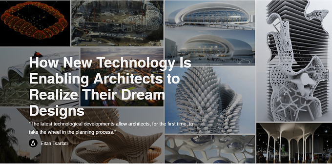 How New Technology Is Enabling Architects to Realize Their Dream Designs