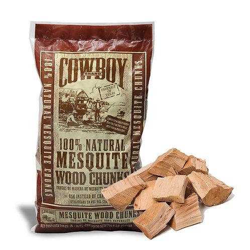 MESQUITE WOOD CHUNKS 3.1kg