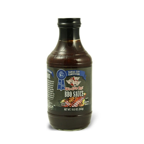 Three Little Pigs Competition BBQ Sauce 19.05OZ