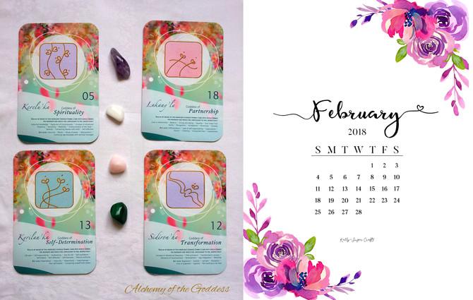 Loving February beautiful Goddess!