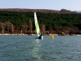 """Регата """"Abrau Sailing Weekend"""" 3-4 февраля 2018"""