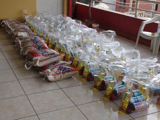 2020 June Food Basket Donation