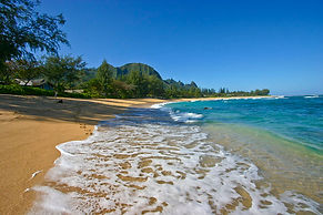 Makua Kai oceanfront luxury vacation rental north shore kauai