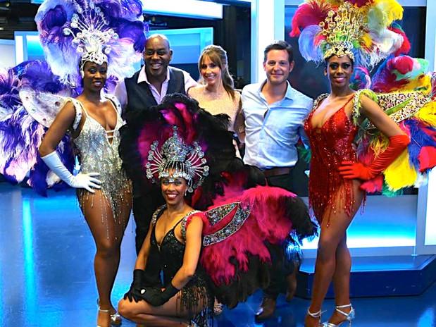 TROPICALIA DANCERS - BBC ONE SHOW