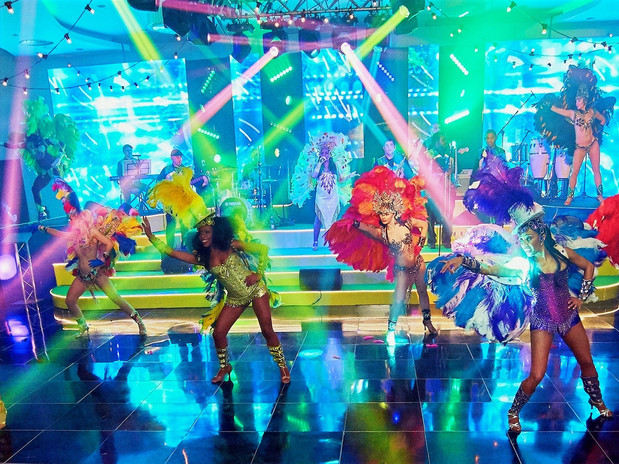BAND & DANCERS BRAZILIAN SHOW