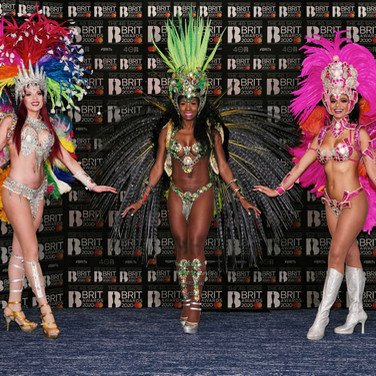 Tropicalia Carnival Dancers - Brit Awards