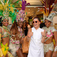 Tropicalia Dancers with Lili Allen