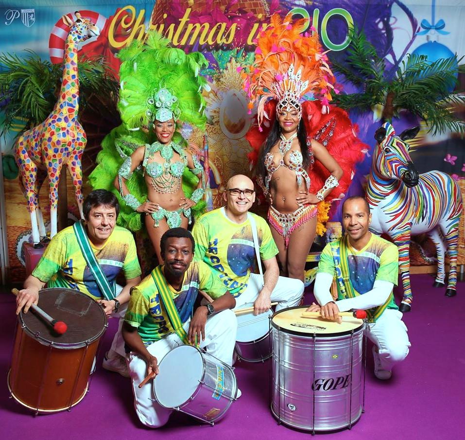 TROPICALIA SAMBA DRUMMERS & DANCERS