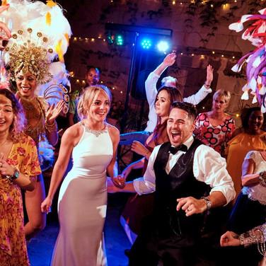 Tropicalia Carnival Dancers - Wedding Entertainment