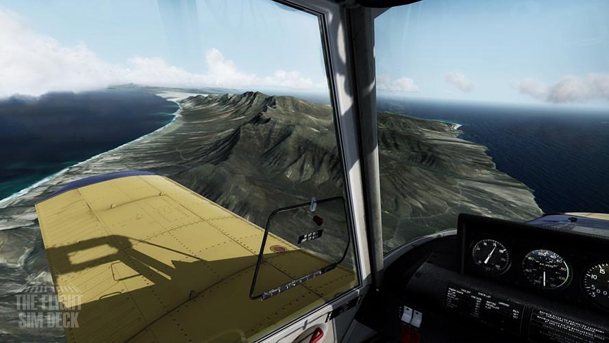 Piper PA-25 Pawnee Flying Around Fueturv