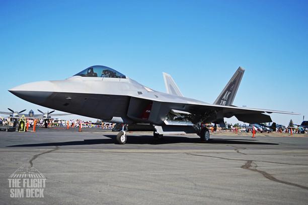 F22 Raptor - 2016 California Capital Air