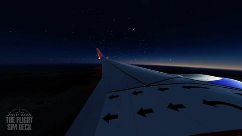 Southwest 737-800 Early Morning Cruise.j
