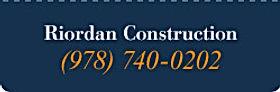 Riordan constrction Salem, MA