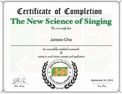 John Henny Certificate