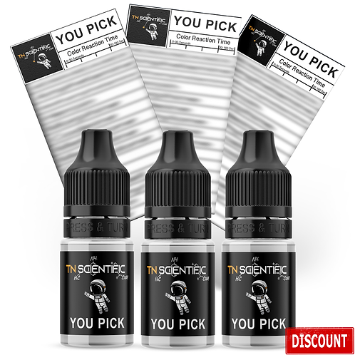 TN Scientific | 3 Pack YOU PICK Reagent Drug Testing Kits