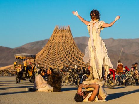 Girl At Burning Man