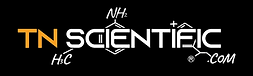 TN Scientific Long Logo White HD Sticker
