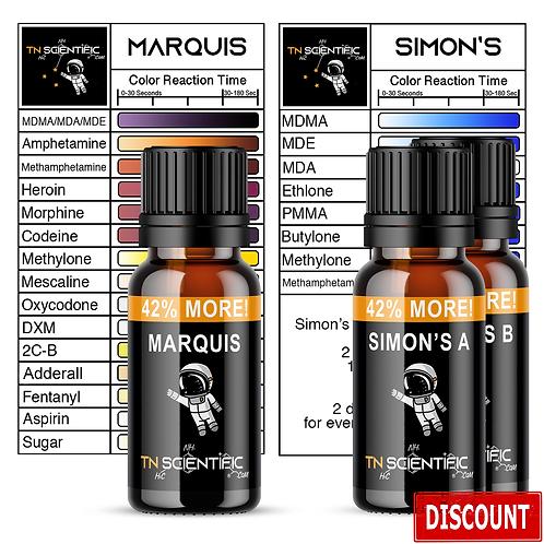 TN Scientific   Marquis, Simon's Reagent Testing Kit ~