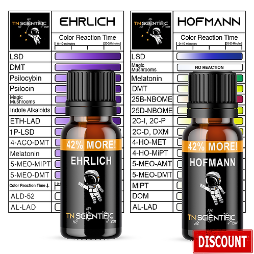 TN Scientific | Ehrlich, Hofmann Reagent Testing Kit ~