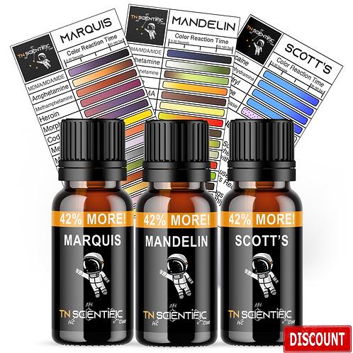 TN Scientific | Marquis, Mandelin, Scott's Reagent Testing Kit ~
