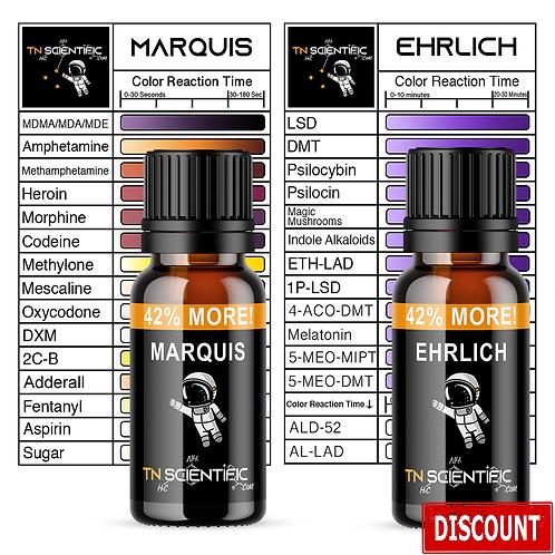 TN Scientific   Marquis, Ehrlich Reagent Testing Kit ~