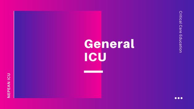 General ICU