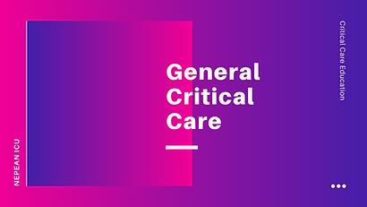 General Critical Care