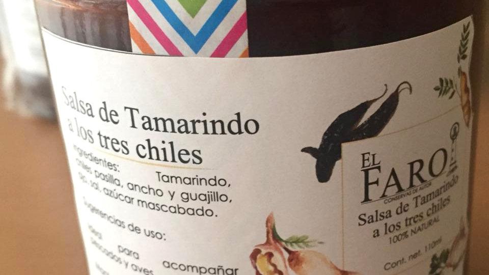 Salsa de Tamarindo a los 3 Chiles
