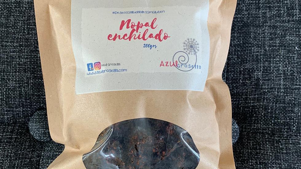 Nopal enchilado