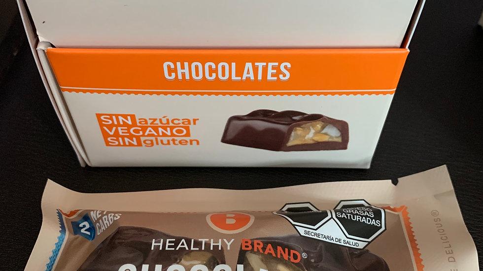 Chocolates rellenos (2piezas) KETO