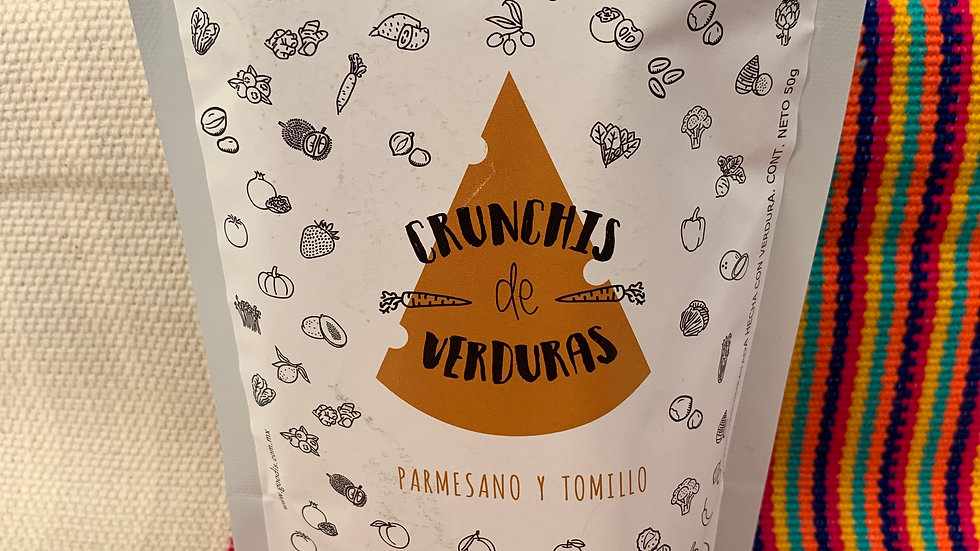 SNACKS DE VERDURAS PARMESANO Y TOMILLO