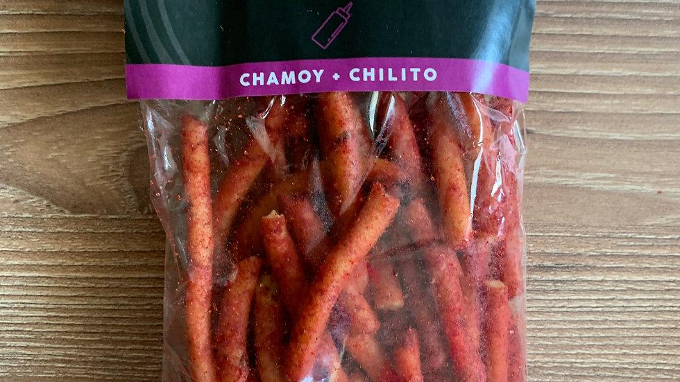 Churritos de amaranto SABOR CHAMOY-CHILITO