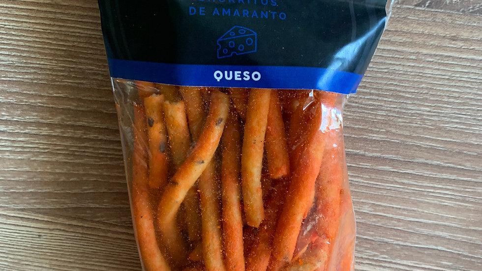 Churritos de amaranto sabor QUESO