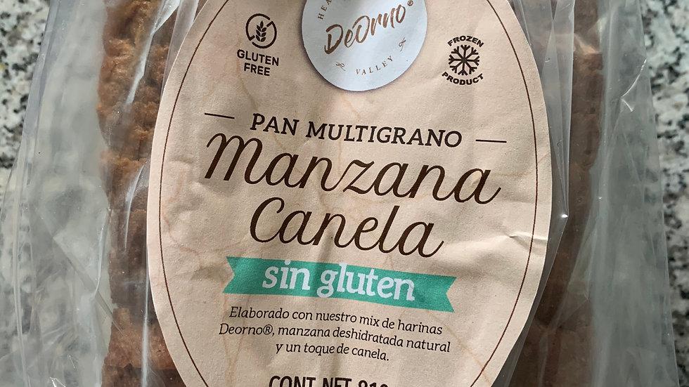 Pan multigrano MANZANA Y CANELA