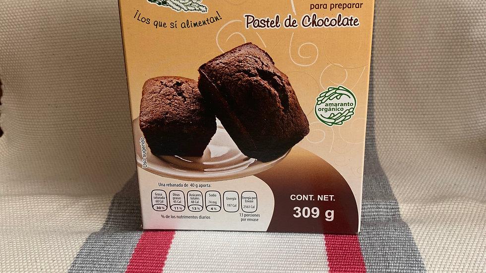 Harina integral de amaranto para pastel de chocolate