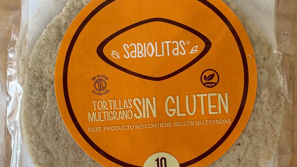 Tortillas INTEGRALES sin gluten