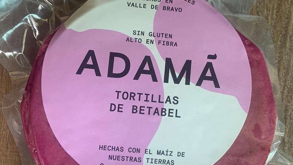 Tortillas de Betabel
