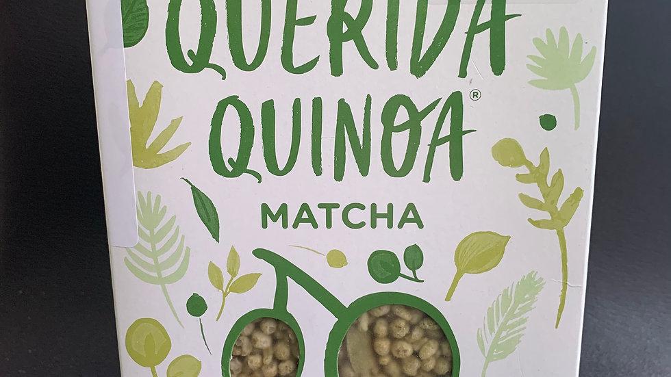 Cereal de Quinoa sabor MATCHA